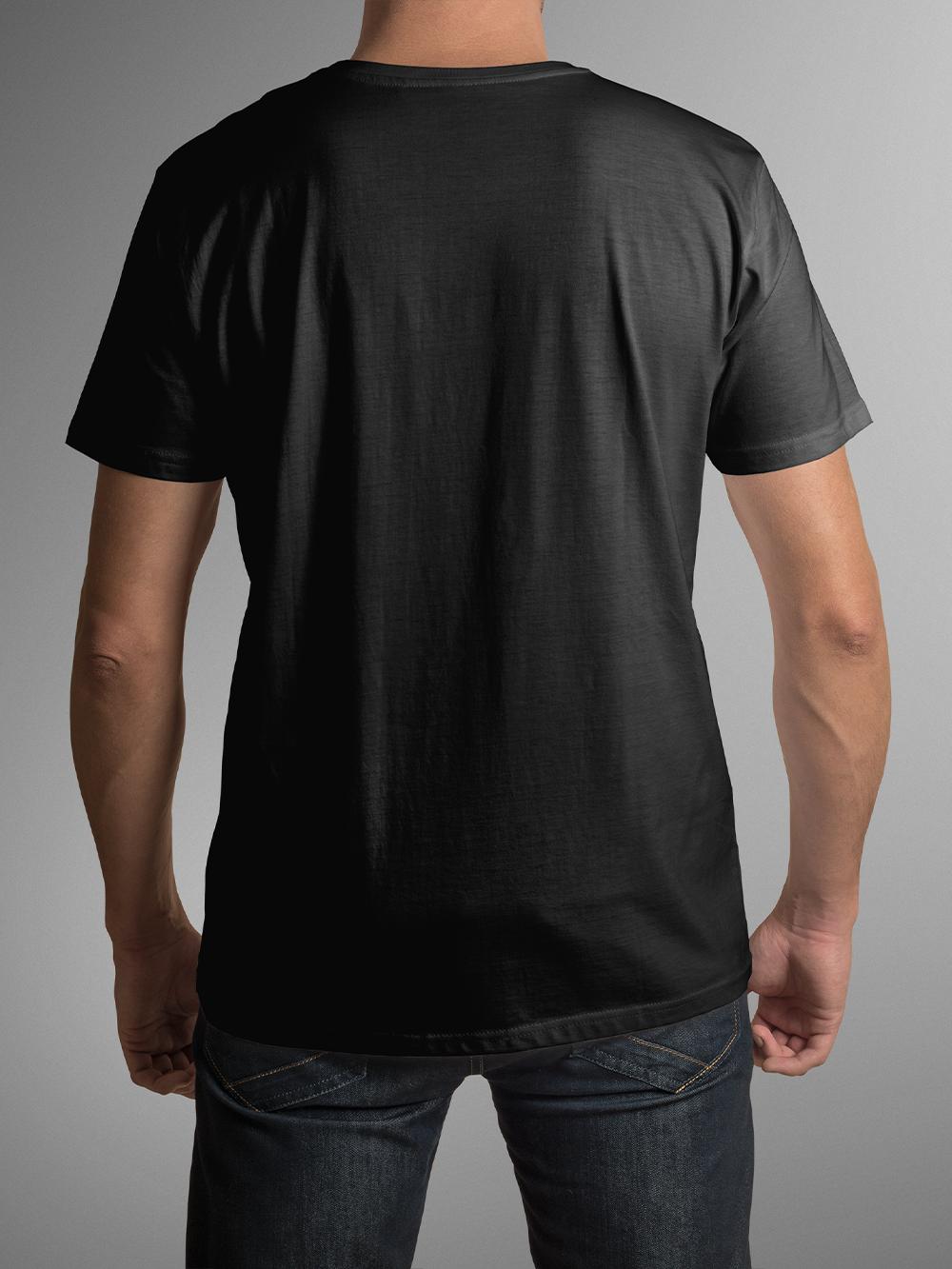T-Shirt Gaming Marathon, Bumbac, Negru